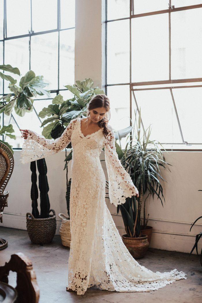 The Best Etsy Bohemian Wedding Dresses Thevu Photo
