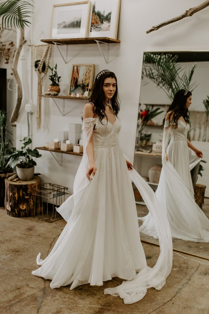 d6fa56f0326b6 The Best Etsy Bohemian Wedding Dresses | Junebug Weddings