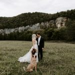 This Bohemian Arkansas Elopement at Buffalo Outdoor Center Included the Couple's Dog as Their Witness