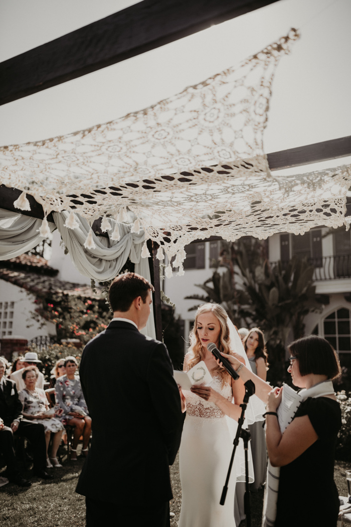 This Quail Ranch Wedding was Dripping with California