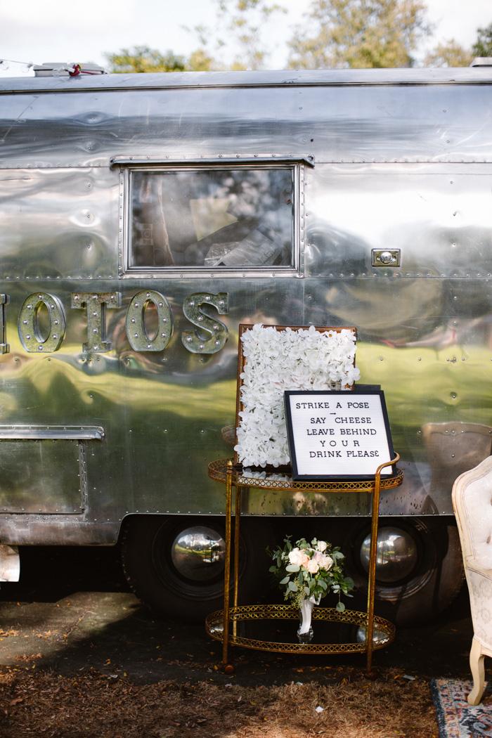 An airstream photo booth!