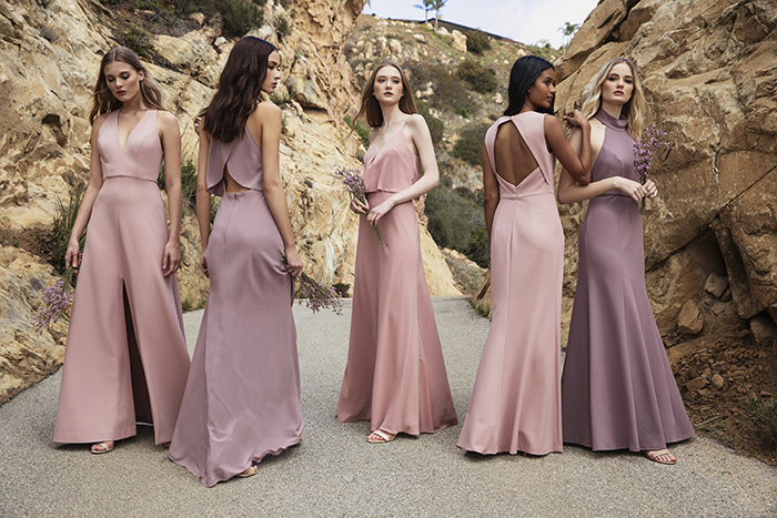 3f71d30b8b35b Suns out, shoulders out! Shoulder-baring styles are in for 2019 to show off  your best babes' balance of strength and femininity. The Jenny Yoo  Collection ...