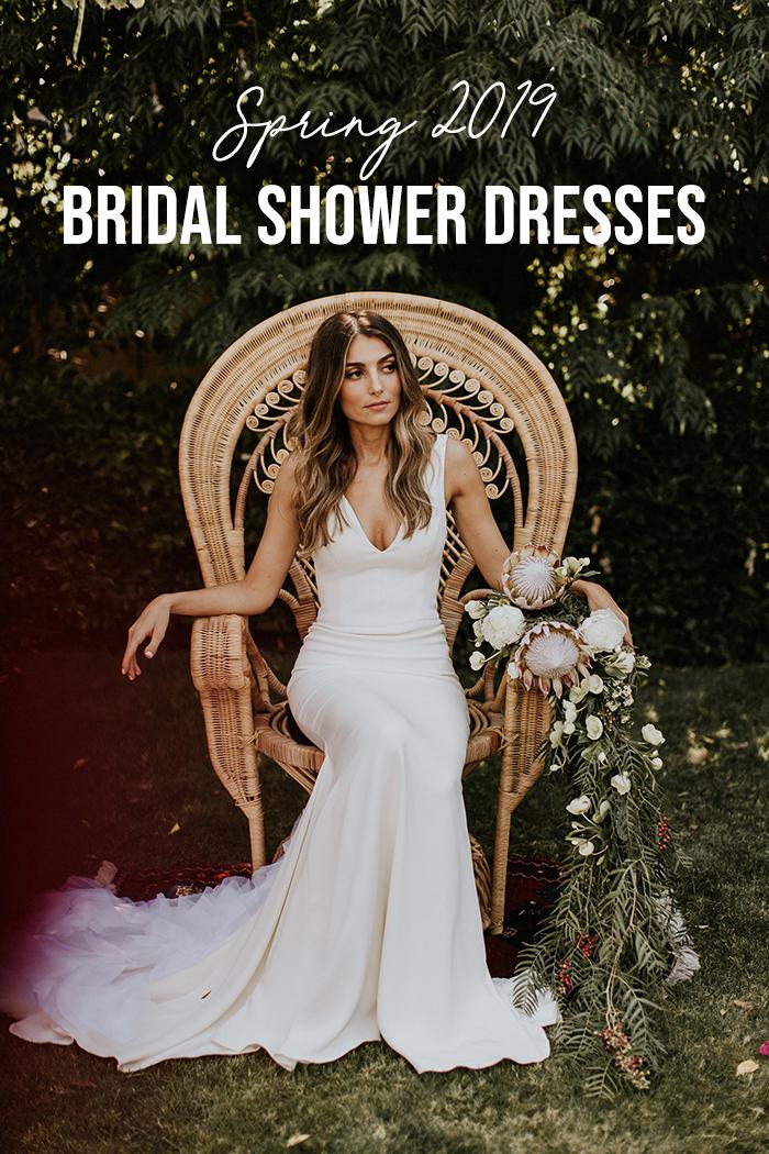 2019 Spring Bridal Shower Dresses Junebug Weddings
