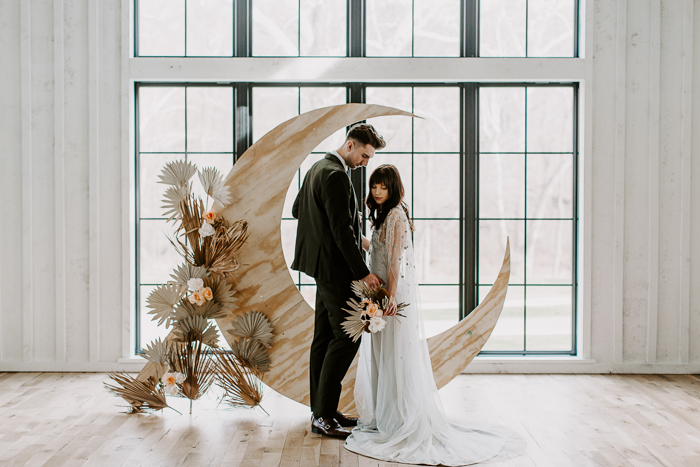 The Stars Aligned in This Astrology Wedding Inspiration at