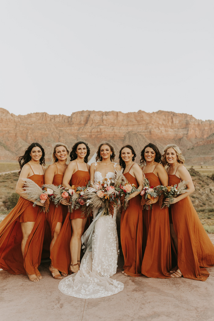 This Desert Glam Wedding at Under Canvas Brought the Boho ...