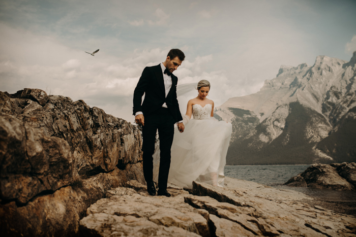 Parts Of A Wedding.This Fairmont Banff Springs Wedding Is Equal Parts Elegant