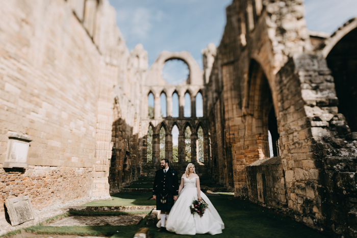 067a19bce68 This Scottish Brodie Castle Wedding is a Legit Fairy Tale Come to ...