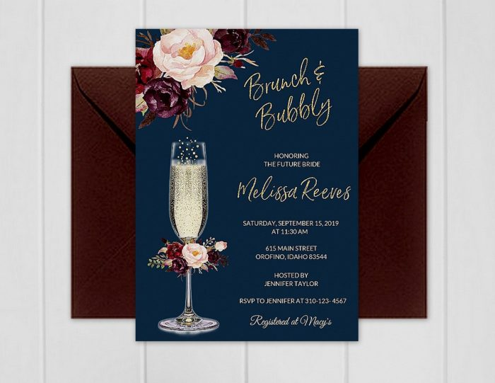 50 Etsy Wedding Shower Invitations That Are Stylish And