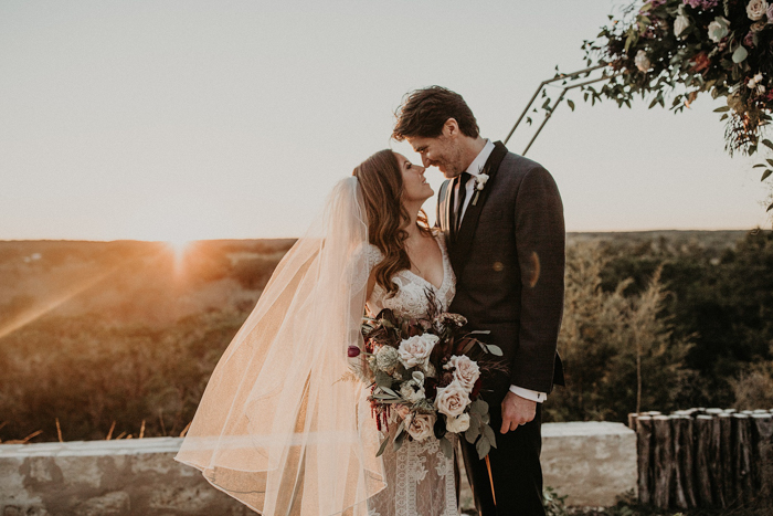 This Texas Hill Country Wedding Has All The Moody Romantic