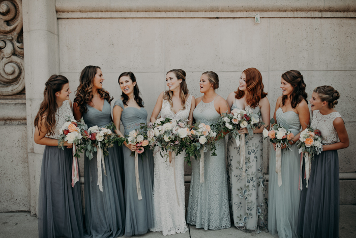 7 Dusty Blue Wedding Color Palettes