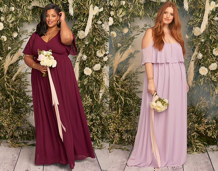 The Best Places To Shop For Plus Size Bridesmaids Dresses