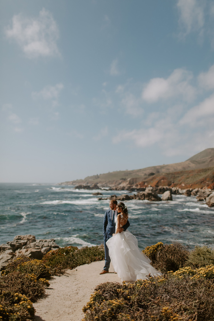 This Pfeiffer Beach Wedding Focused On Intimacy And The