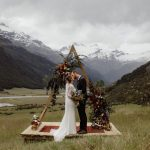 Epic Describes Both the Views and the Romance in This New Zealand Elopement at Rees Valley Farm