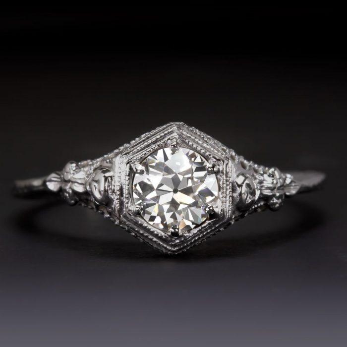 The Best Etsy Shops For Vintage Engagement Rings Junebug Weddings