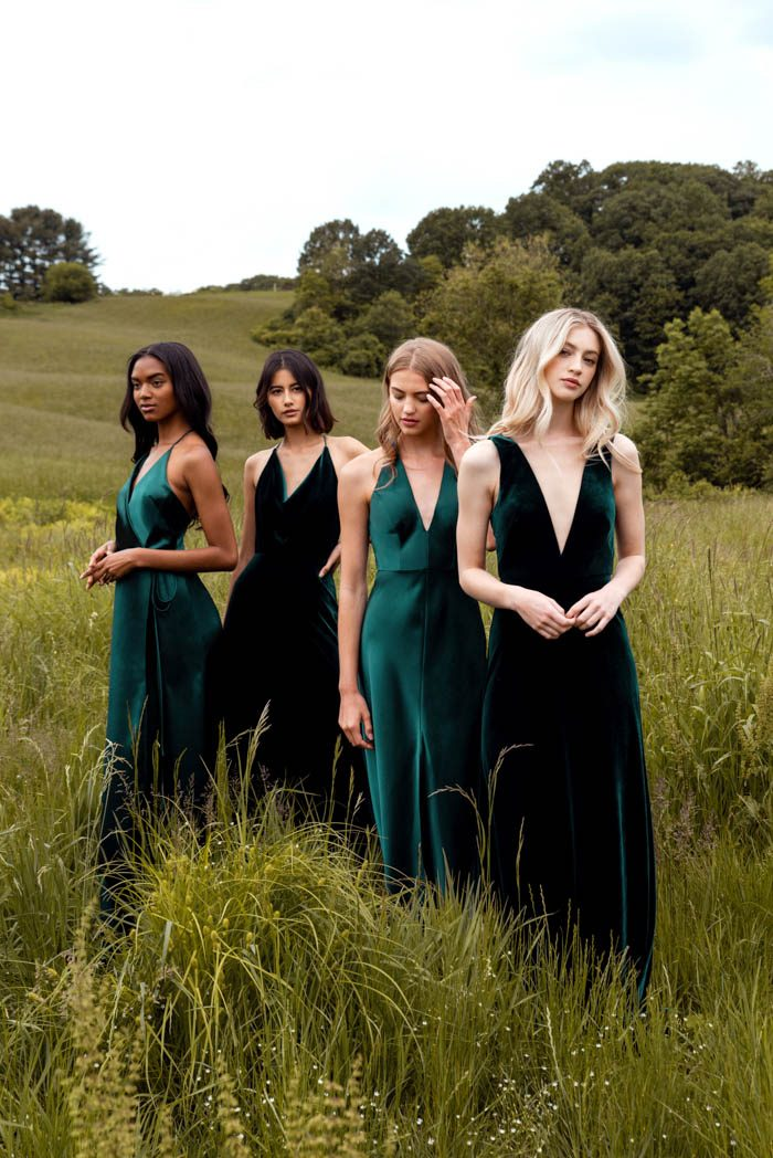 These Stylish Jenny Yoo Fall 2019 Bridesmaids Dresses Are So Gorgeous We Literally Can T Choose A Favorite Junebug Weddings