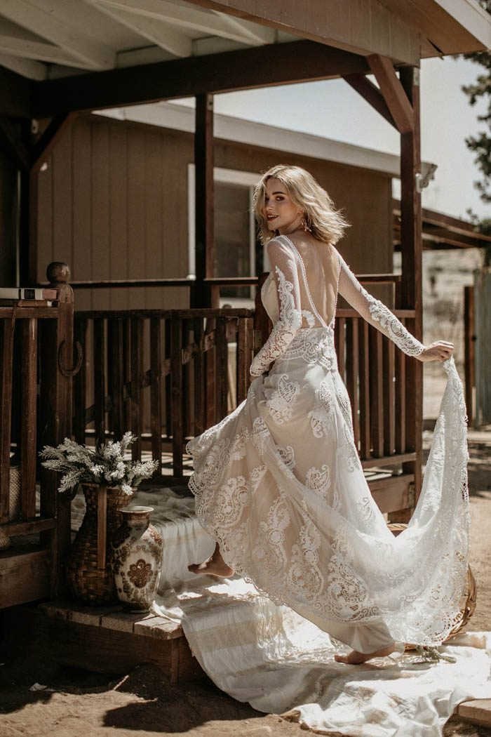 e17c653a5 If you've been looking for the perfect dress that's off the beaten path of  traditional gowns while being effortlessly chic, prepare to fall head over  ...