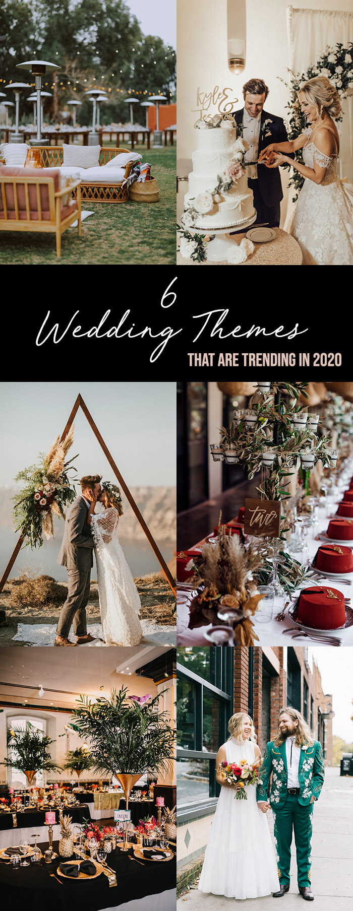 6 Wedding Themes That Are Trending In 2020 Junebug Weddings