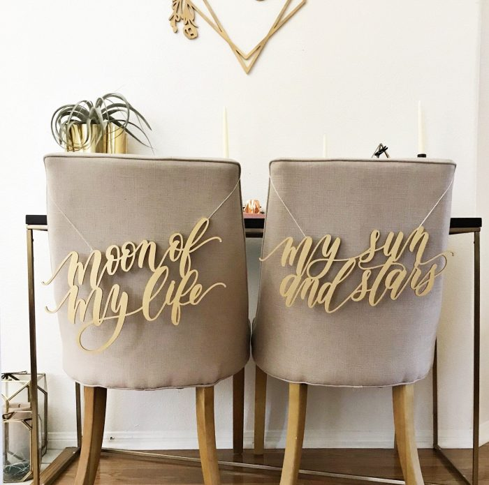 10 Genius Ideas For Styling Your Sweetheart Table