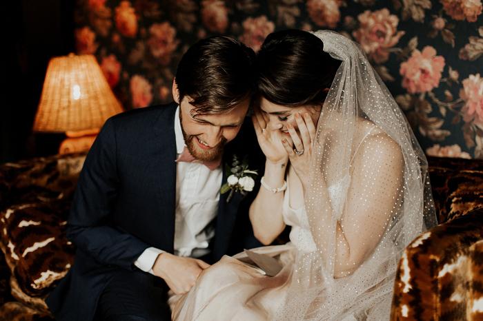 This Intimate Parish Atlanta Wedding Celebrates The Couple's