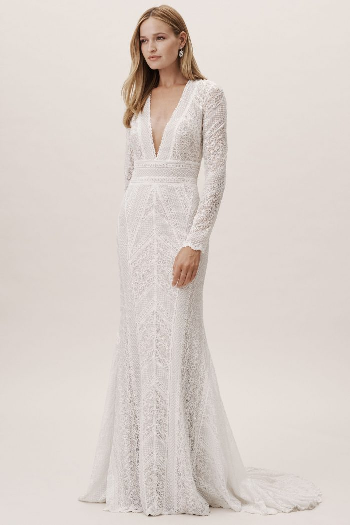 These 50 Long Sleeve Wedding Dresses Are Ideal For Fall Or Winter Weddings Junebug Weddings