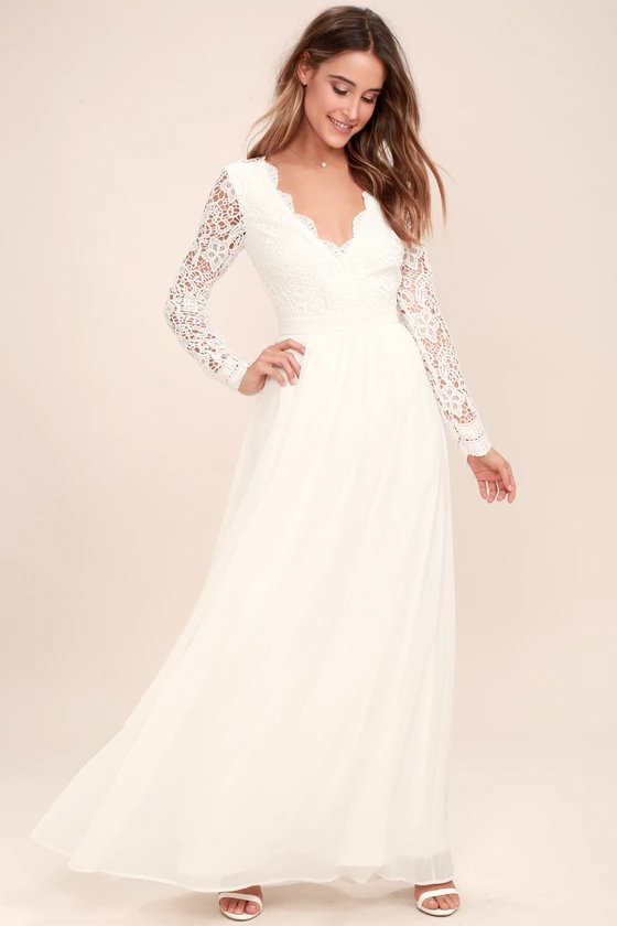 These 50 Long Sleeve Wedding Dresses Are Ideal For Fall Or Winter Weddings Junebug Weddings,Indo Western Dresses For Wedding Reception