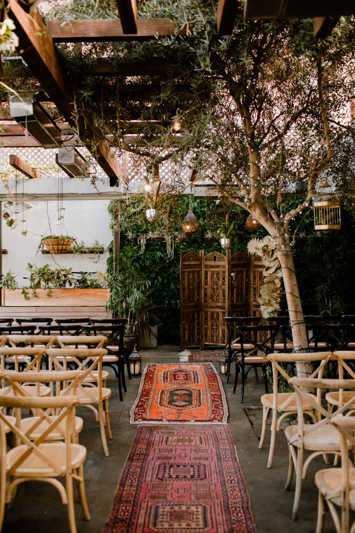 Modern Eclectic Madera Kitchen Wedding
