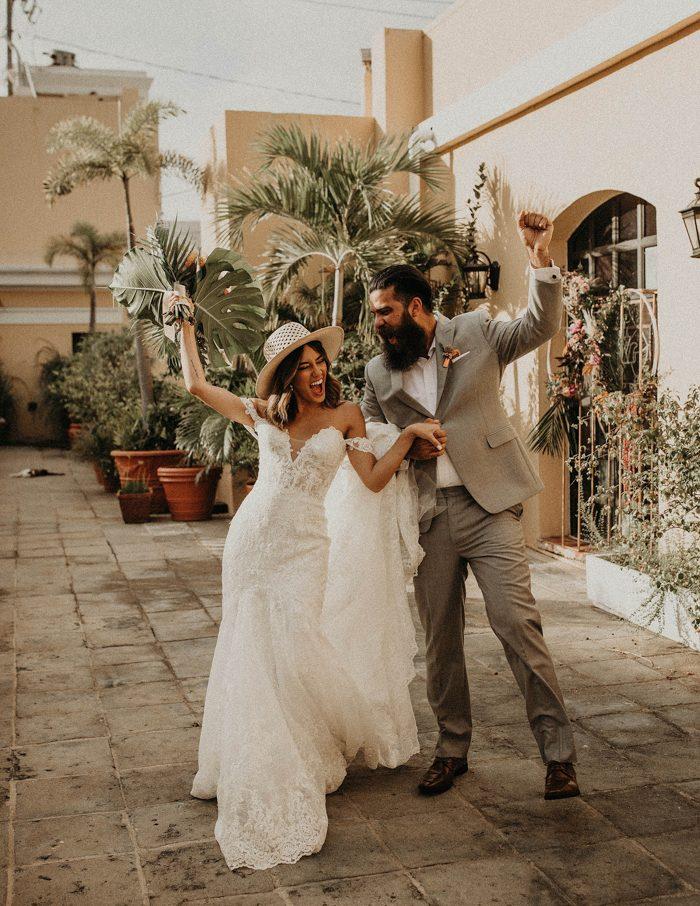 Traditional puerto rican wedding attire