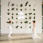 This Tropical Prospect House Wedding Perfectly Nails Austin Cool