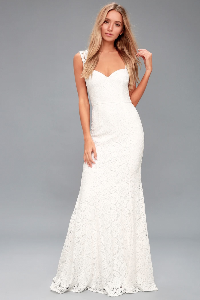 25 Casual Wedding Dresses For Laid Back Brides Junebug Weddings,Ribbon Corset Back Wedding Dress