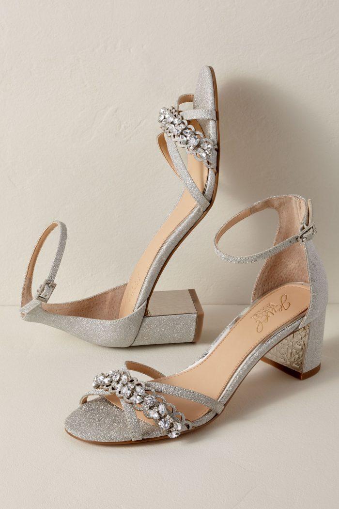 40 Chic Low Heel Wedding Shoes