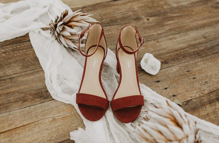 wedding shoes low heel open toe