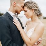 Pale Blue and Grey PNW-Inspired Latvia Countryside Wedding
