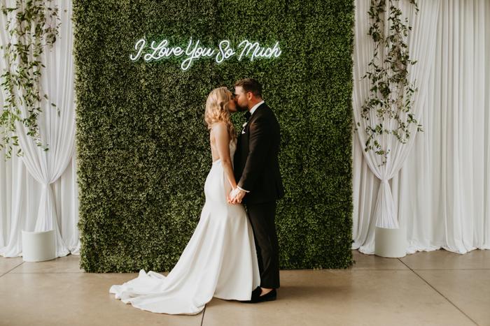 Oklahoma City Wedding Venue In Edmond Wedding Reception Entrance
