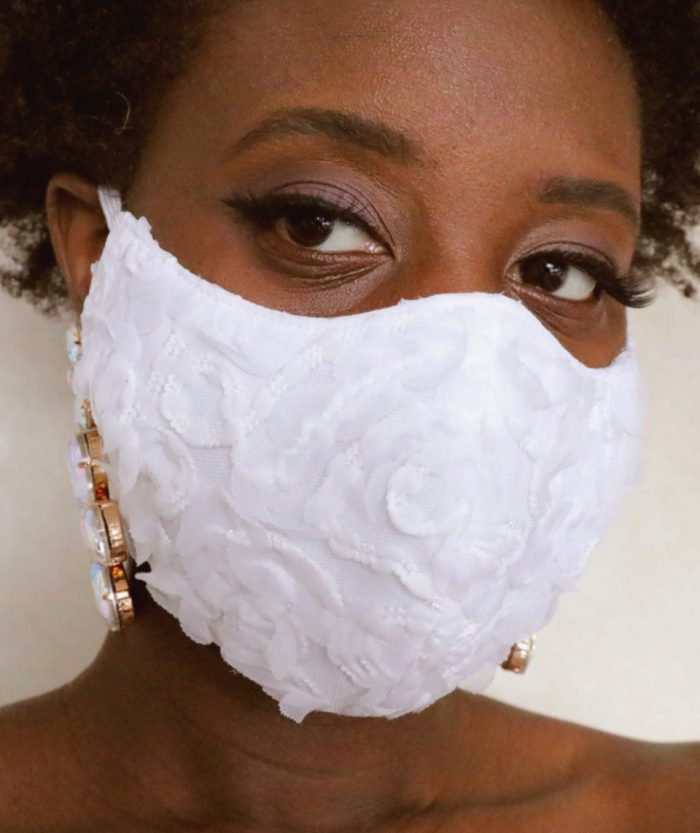 31 Stylish Face Masks For Your Wedding