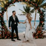 Moody Tropical Playa del Carmen Wedding at Blue Venado Beach Club
