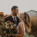 Warm and Natural South Africa Wedding at The Greenhouse Café