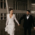 Miami Glam Parking Garage Wedding at 1111 Lincoln Rd