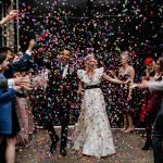 Cool, Colorful, And Absolutely Luxurious Industrial Wedding Celebration